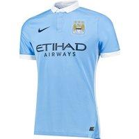 Manchester City Home Match Shirt 2015/16 Sky Blue
