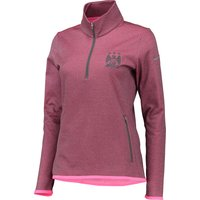 Manchester City Thermal 1/2 Zip Top - Womens Pink
