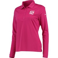 Manchester City Victory Polo - Long Sleeve - Womens Pink