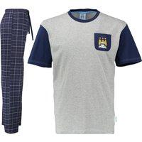 Manchester City Pyjamas -Navy/Grey- Mens