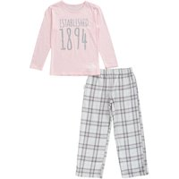 Manchester City Pyjamas -Grey/Pink - Girls