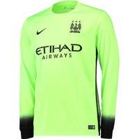 Manchester City 3rd Shirt 2015/16 - Long Sleeve Green