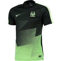 Manchester City Flash Pre Match Top Black