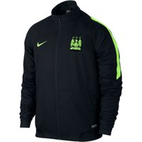 Manchester City Sideline Woven Track Jacket Black