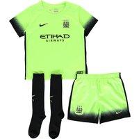 Manchester City 3rd Kit 2015/16 - Little Kids Green