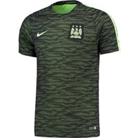 Manchester City Flash Training Top Black