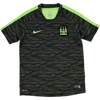 Manchester City Flash Training Top - Kids Black