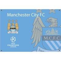 Manchester City UCL Flag 90 x 150 cm