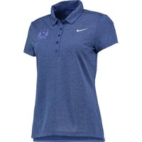 Manchester City Precision Heather Polo - Womens Royal Blue