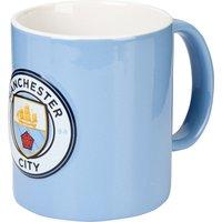 Manchester City 3D Crest 11oz Mug