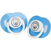 Manchester City Baby Soothers - Pack of 2