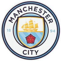 Manchester City Crest Car Sticker