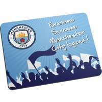 Manchester City Personalised Legend Mouse Mat