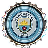 Manchester City Bottle Cap Badge