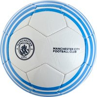 Manchester City Size 5 Football - White