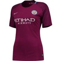 Manchester City Away Stadium Shirt 2017-18 - Womens