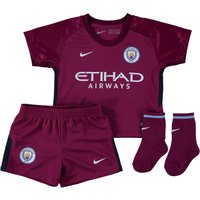 Manchester City Away Stadium Kit 2017-18 - Infants