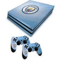 'Manchester City Console And Controller Skin - Ps4 Pro
