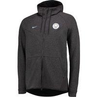 Manchester City Authentic Tech Fleece Windrunner - Black