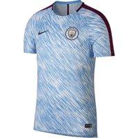 Manchester City Squad Pre-Match Training Top - Light Blue