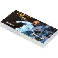 Manchester City 2017-18 Champions Raheem Sterling Goal Flip Book