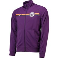 Manchester City Core Trainer Jacket - Purple