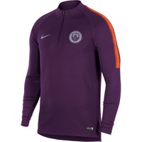 Manchester City Squad Drill Top - Purple