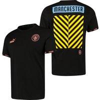 Manchester City Culture T-Shirt - Black
