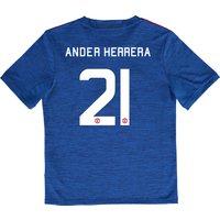 Manchester United Cup Away Shirt 2016-17 - Kids with Herrera 21 printi
