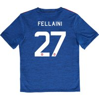 Manchester United Cup Away Shirt 2016-17 - Kids with Fellaini 27 print