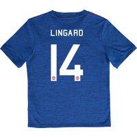 Manchester United Cup Away Shirt 2016-17 - Kids with Lingard 14 printi