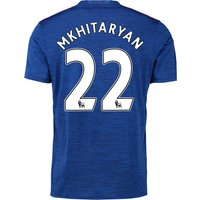Manchester United Away Shirt 2016-17 with Mkhitaryan 22 printing