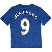 Manchester United Away Shirt 2016-17 - Kids with Ibrahimovic 9 printin