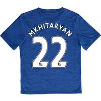 Manchester United Away Shirt 2016-17 - Kids with Mkhitaryan 22 printin