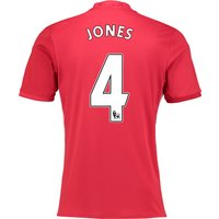 Manchester United Home Shirt 2016-17 with Jones 4 printing