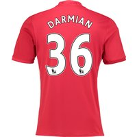 Manchester United Home Shirt 2016-17 with Darmian 36 printing