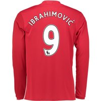 Manchester United Home Shirt 2016-17 - Long Sleeve with Ibrahimovic 9