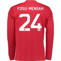 Manchester United Cup Home Shirt 2016-17 - Long Sleeve with Fosu-Mensa