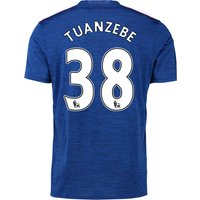 Manchester United Away Shirt 2016-17 with Tuanzebe 38 printing