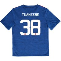 Manchester United Away Cup Shirt 2016-17 - Kids with Tuanzebe 38 print