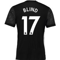 Manchester United Away Shirt 2017-18 with Blind 17 printing