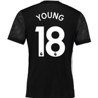 Manchester United Away Shirt 2017-18 with Young 18 printing