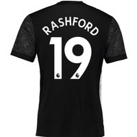 Manchester United Away Shirt 2017-18 with Rashford 19 printing
