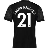 Manchester United Away Shirt 2017-18 with Ander Herrera 21 printing