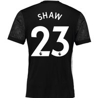 Manchester United Away Shirt 2017-18 with Shaw 23 printing