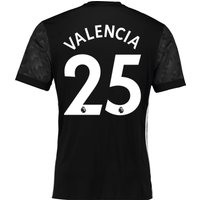 Manchester United Away Shirt 2017-18 with Valencia 25 printing