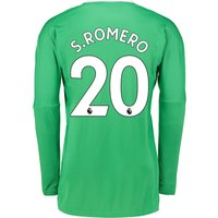 Manchester United Away Goalkeeper Shirt 2017-18 with S.Romero 20 printing