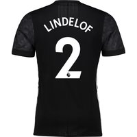 Manchester United Away Adi Zero Shirt 2017-18 With Lindelof 2 Printing, N/A