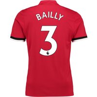 Manchester United Home Shirt 2017-18 with Bailly 3 printing