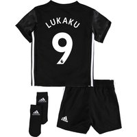 Manchester United Away Baby Kit 2017-18 With Lukaku 9 Printing, N/A